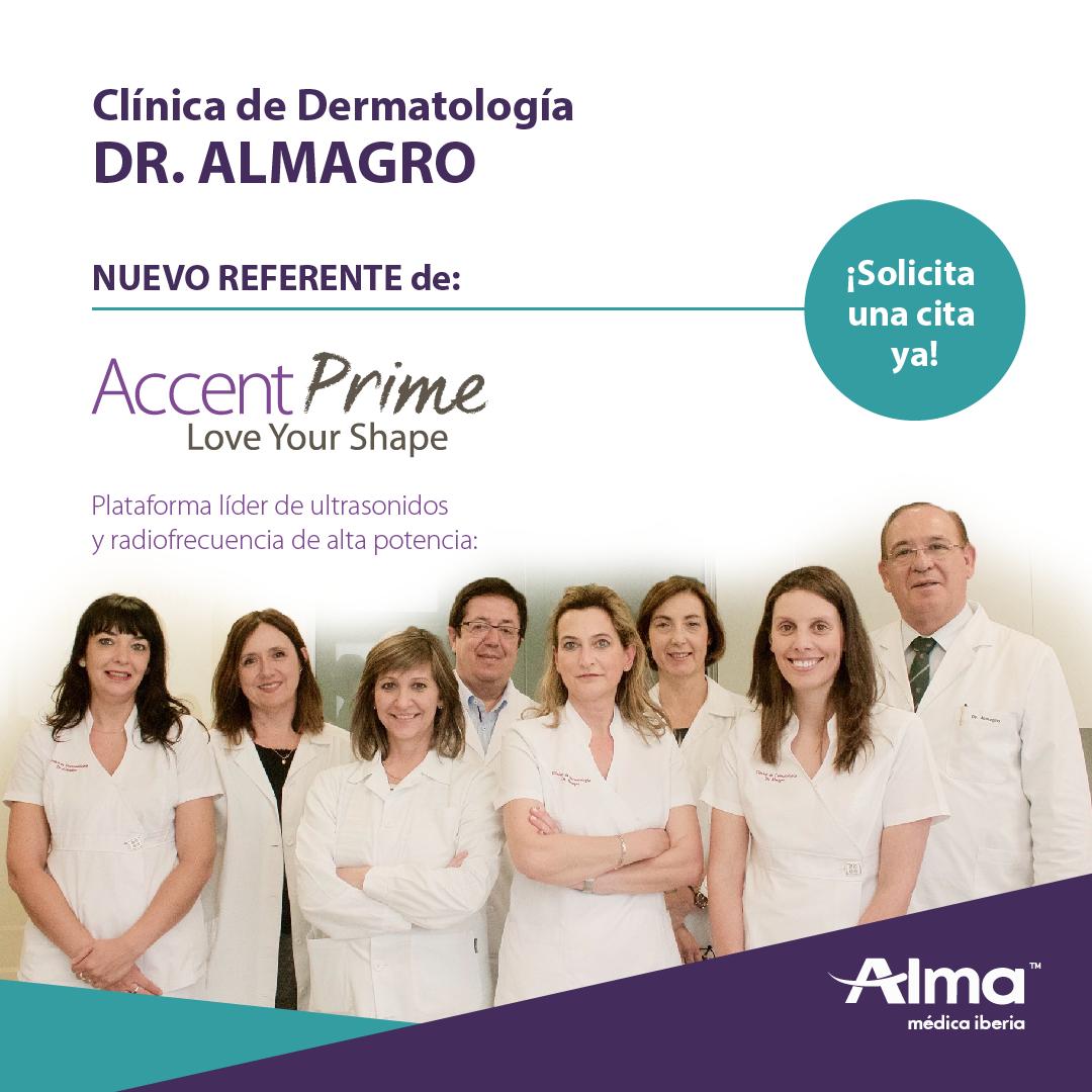 Clínica Dr. Almagro y Accent Prime